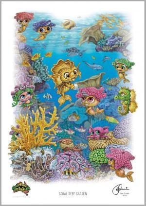 A3 – Coral Reef Garden