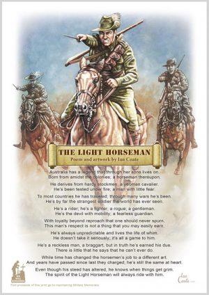 Military Poem – Light horseman