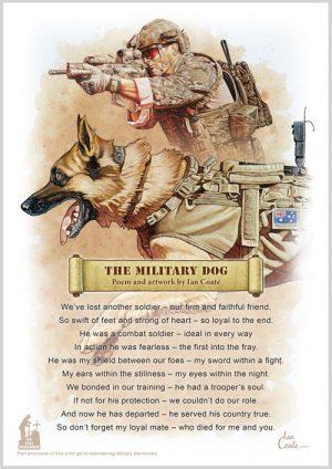 Military Poem – Military Dog