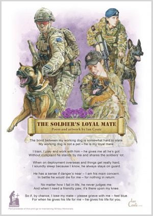 Military Poem – Soldiers Dog