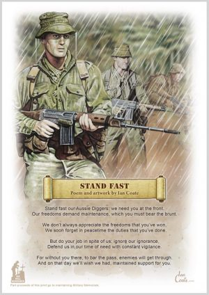 Military Poem – Stand Fast