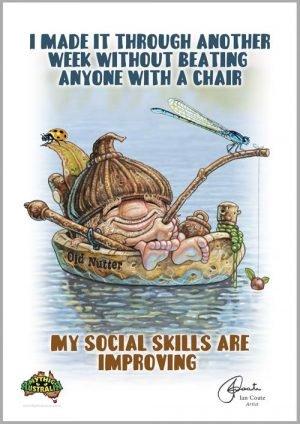 Old Nutter – Social Skills
