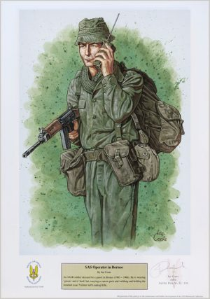 SAS Operator in Borneo