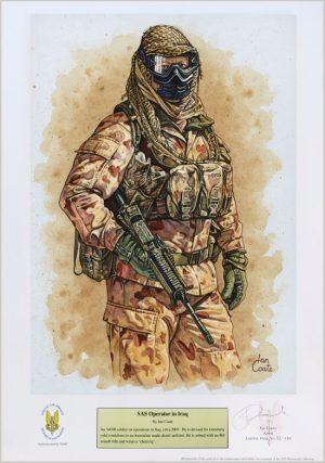 SAS Operator in Iraq